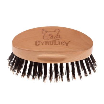 Kartacz do brody z włosia dzika