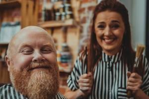 Dbanie o brodę i wąsy