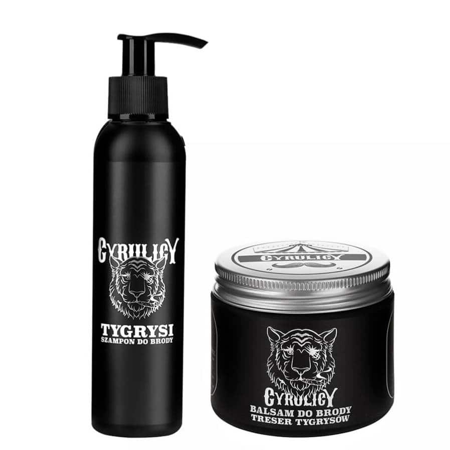 szampon do brody i balsam do brody o średnim chwycie