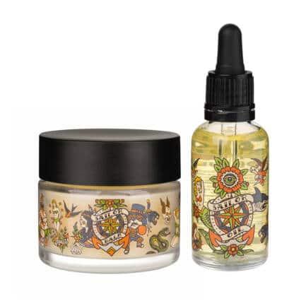 balsam do brody oraz olejek do brody o kolońskim zapachu